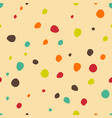 polka dots seamless pattern creative texture for vector image