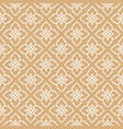 seamless pattern thailand traditional style vector image vector image