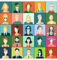 Set of avatars flat design