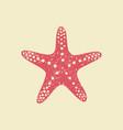 Starfish in flat style
