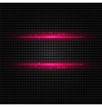Abstract dark background with pink color light vector image