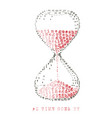 as time goes vector image vector image