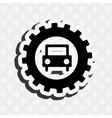 gears machine design vector image vector image