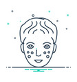 laser dermatology vector image