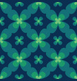 seamless clover pattern clover vector image