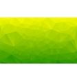shades green abstract polygonal geometric vector image vector image