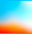 summer blurred abstract background soft colored vector image