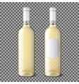 Two transparent realistic with place for your vector image vector image
