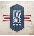 Independence Day Sale festive Poster vector image