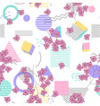 geometric seamless print polka dots design for vector image