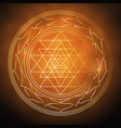om is the symbol of hinduism for the banner vector image vector image