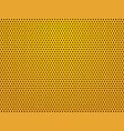 perforated gold sheets background vector image vector image