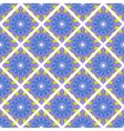 Seamless mosaic geometrical pattern background vector image vector image