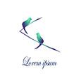 Bird Logo2 vector image