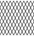 black geometrical seamless background vector image