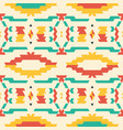 aztec tribal seamless pattern vector image vector image