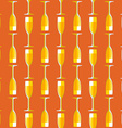 colored champagne glass seamless pattern vector image vector image