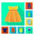 design of fashion and garment symbol vector image vector image