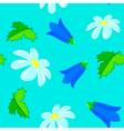 flowers seamless vector image vector image
