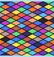 minimalistic seamless rhombus background in flat vector image vector image