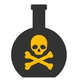 Poison Flat Icon vector image