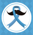 prostate cancer campaign vector image