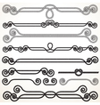 Rope Borders and Frames vector image