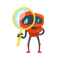 search bot vector image