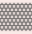 subtle geometric seamless pattern with hexagonal vector image vector image