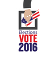 USA Elections Vote 2016 Concept vector image vector image