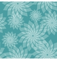 Simple Seamless Pattern with Flowers vector image
