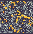 field foral seamless pattern-06 vector image vector image