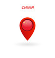 location icon for china flag eps file vector image