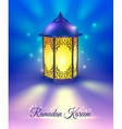 Ramadan Colored Poster vector image vector image