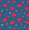 seamless fruit pattern pomegranate with ab vector image