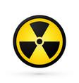 simple radioactivity symbol vector image vector image
