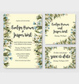 wedding invite invitation rsvp save date vector image vector image