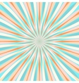 Abstract Colorful Retor Rays Background vector image vector image