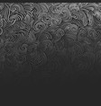 abstract curly vector image vector image