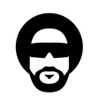 afro style vector image vector image