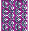 Purple stylized symmetric endless pattern vector image vector image