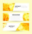 set horizontal summer web banner templates bright vector image vector image