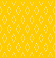 tile yellow and white pattern or background vector image vector image