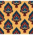 Vintage Damask Floral Oriental vector image vector image