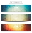 3d Technology Web Banners vector image vector image