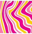 Colorful striped background vector image vector image
