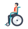 disability icon vector image vector image