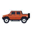 hummer pickup vector image
