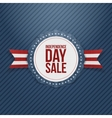 Independence Day Sale realistic Tag vector image vector image
