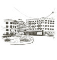 russia voronezh hand drawn sketch city vector image